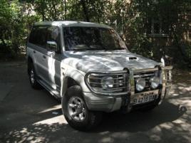 Mitsubishi Pajero MMC  Off-Road Kyrgyzstan transfers, transportation services