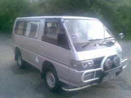 Mitsubishi Delica Minibus Kyrgyzstan transfers, transportation services